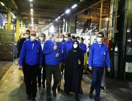 پیروزبخت در جمع مدیران ایران خودرو بر ارتقای کیفیت خودروها تاکید کرد